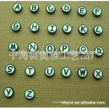 Teaching children English alphabet pins