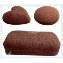 Esponjas de konjac de fibra vegetal 100% natural pura