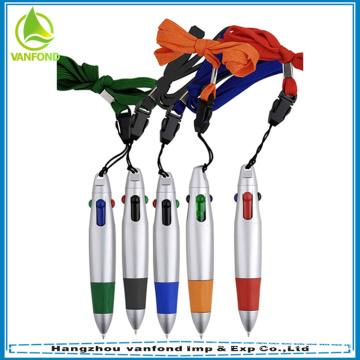 Промо мини пластиковые multi цвета шариковая ручка с талреп