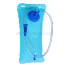 bolso de consumición plegable al por mayor del agua potable del viaje del vejijador del agua que completa un ciclo la bolsa de agua