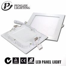 6W weiße LED quadratische Deckenleuchte für Juwelier