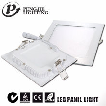 Plafonnier carré blanc de 6W LED pour le magasin de bijoux