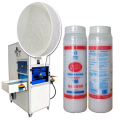 Máquina de fusión de alta eficiencia Máquina de unión Resina de pegamento Residue Cleaning Powder