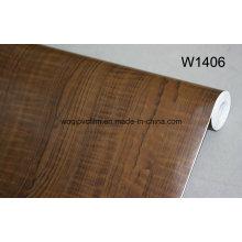 Оптовая самоклеящиеся деревянное зерно виниловой пленки ПВХ деревянное зерно пленки