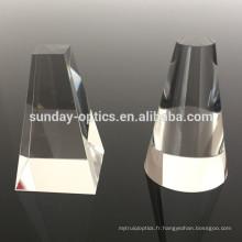 Prisme solaire en verre optique bk7