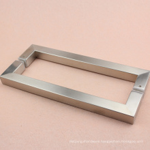 Wholesale high quality pull door handle flush brushed with best choice