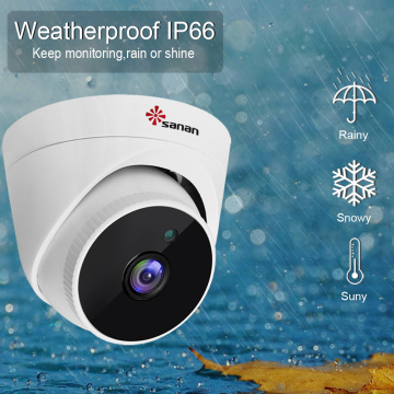 IP 5MP CCTV Dome kamera Sistemi