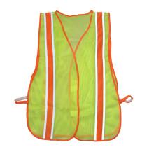 Veste reflexiva de segurança personalizada com refletor de alto nível