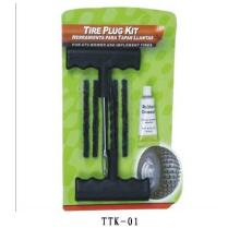 Herramientas de la reparación del neumático sin tubo