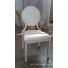 Round back metal louis chair for banquet hall XA3231