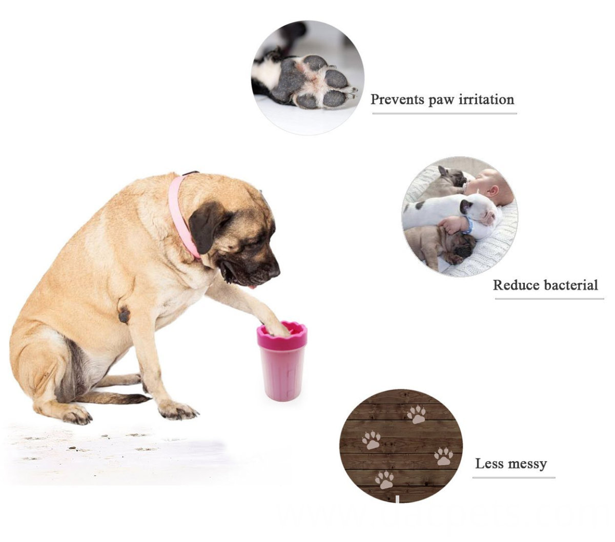 Portable Pet Paw Mud Cleaner