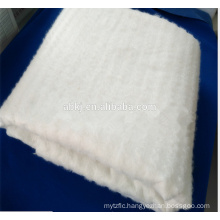 Thermal bond nonwoven mulberry silk wadding/cotton for silk quilting