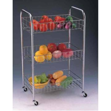 Portable 3 Tier Storage Cart
