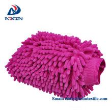 Mikrofaser-Auto-Reinigungs-Handschuh mit Faser-Terry-Tuch