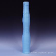 blue Color with High Temperture Ceramic Art Flower Garden Decoration (T01)