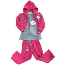 Sudaderas de sudadera con capucha de algodón de moda de ocio en niños Ropa de trajes de deporte Swg-109