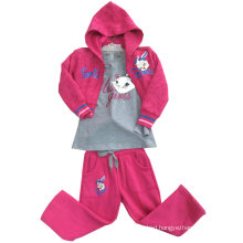 Leisure Fashion Cotton Sweatshirt Hoodies in Children Clothing for Sport Suits Swg-109
