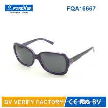 Квадратная форма дамы стиль ацетат солнцезащитные очки Acchiali Da Sole покупки из Китая