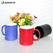 heat sensitive color changeing mug hot cold