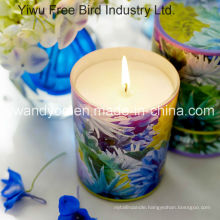 Summer Flowers Nature Scented Candle
