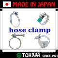 Из нержавеющей стали, предохранительный хомут. Сделано в Японии TOYOX. Долгий срок службы и ржавчине (сверхмощный хомут)