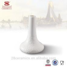 Venda quente conjunto de jantar, vaso de porcelana branca, vaso de flor de porcelana