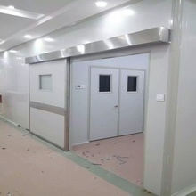 Luftdichte innere Krankenhaustür aus Edelstahl