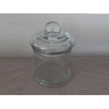 Transparent Glass Candle Jar (A-1020)