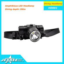 Precio al por mayor 800Lm 3 modo impermeable LED faro cabeza lámpara de luz para la bicicleta de pesca al aire libre de los deportes de ejecución