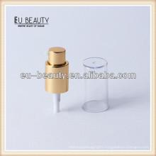 Gold aluminium pump dispenser 18/415