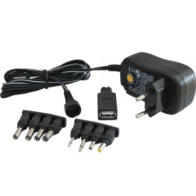 3-12V 7.2W Universal Wall Mount Power Adapter