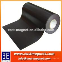 Flexible Magnet hecho en cadena / Es compuesto de plásticos o gomas y polvos de ferrita / proveedor China