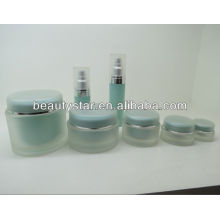 Runde Acryl-Creme-Container