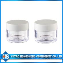 Hy-Pj-006e Straight Shape 10ml Plastic Jar with PP Cover