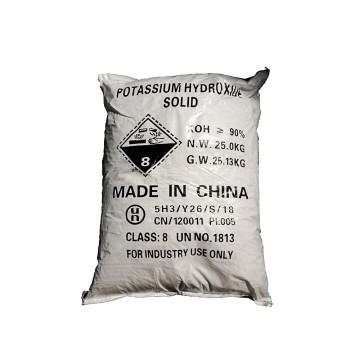 Potassium hydroxide pellets Europe