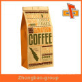 High quality packaging bags china supplier stand up kraft paper custom coffee bags with printing