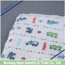No microfiber and pure cotton printe dishcloth