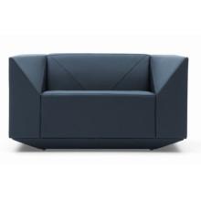 Diamant forme luxe nouveau Sofa en cuir moderne