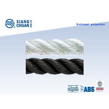 Polyester 3 Strands Twist Rope