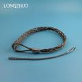 Empuñadura de malla de alambre de acero galvanizado