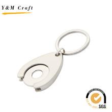 Corrente chave do metal quente da moeda do trole da venda (Y02531)