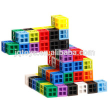 JINGQI TOYS new item fancy style plastic building blocks