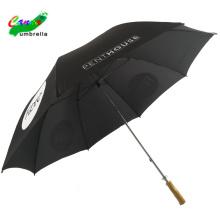 Personalisierter, individueller 3D-Digital-Wärmeübertragungsdruck-Logo 60-Zoll-Golfschirme, Schutz der Golfsonnenschirmteile für den Regenschirm