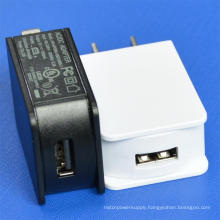 USB Power Adapter 5V1a UL Plug for Phone and Battery