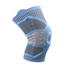 3D Knitted Nylon Knee Support Breathable Compression Sleeve Knee Pads