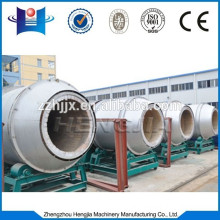 Coal burners connect with boilers