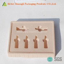 blister  PVC flocking cosmetic Tray Wholesale