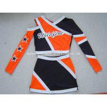 Cheerleading Kostüme 2016: Langarm Top und Rock