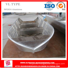 5.8m Durable Aluminum Boat for Fishing with ISO Certificate (VL19)