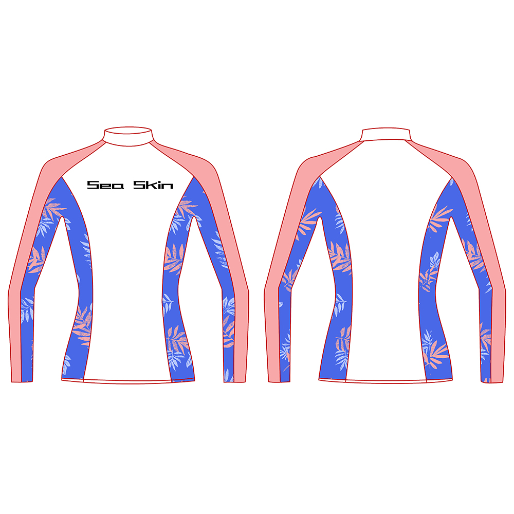 Long Sleeve Rash Guards Women's